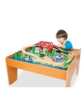 imaginarium---55-piece-rail-and-road-train-set-with-table by toysrus