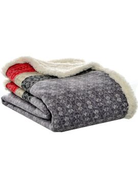 fairisle-sherpa-throw by eddie-bauer