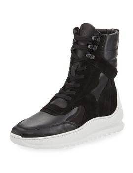 storm-peak-high-top-sneaker-boot by filling-pieces