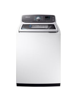 52-cu-ft-high-efficiency-top-load-washer-with-steam-and-activewash-in-white,-energy-star by samsung