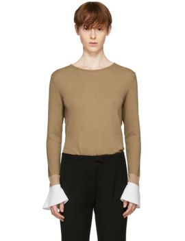 beige-doni-sweater by kuho