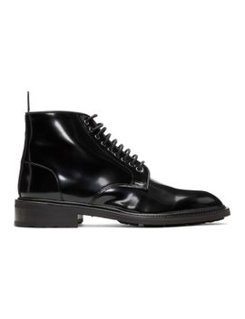 Tiger of Sweden Black Valentino Garavani Lace-Up Boots