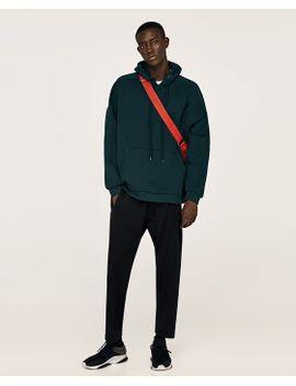 pourtant pas vulgaire sélection mondiale de acheter pas cher Shoptagr | Sweat À Bandes Pied Depoule NouveautÉs Homme by Zara