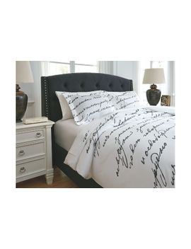 Amantipoint 3 Piece Queen Duvet Cover Set by Ashley Homestore