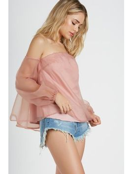 Mauve About You Top by Necessary Clothing