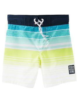 Osh Kosh Striped Swim Trunks by Oshkosh