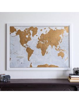 Shoptagr scratch the world scratch off places you travel map mapsinternationalusa gumiabroncs Gallery