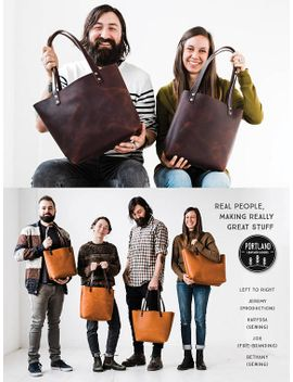 60%-off-almost-perfect--totes-leather-bag---huge-sale-tote-with-or-without-zipper-leather-tote-pocket-for-women-leather-tote-leather-bag by etsy