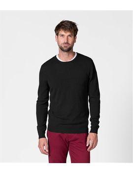 Mens New Merino Crew Neck Sweater by Wool Overs