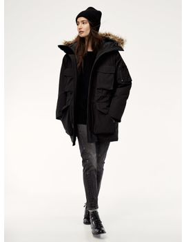 Tna long parka jacket