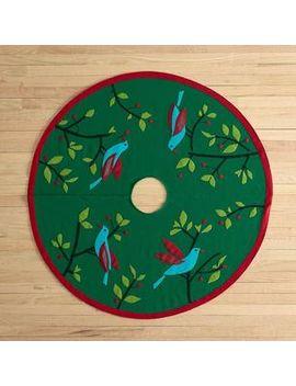Bird Tree Skirt by The Company Store