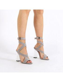 cd869c12fe3 gloria-perspex-cut-out-heels-in-grey-faux-