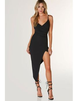 Feel This Way Asymmetrical Dress by Necessary Clothing