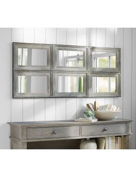 Shoptagr Aiden Large Wall Mirror By Pottery Barn