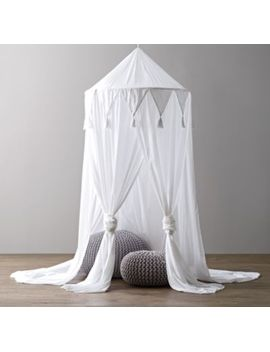 Cotton Voile Play Canopy   White by Restoration Hardware Baby And Child