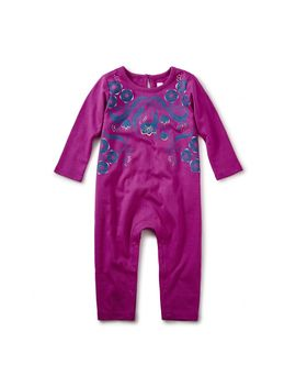 Rosewell Graphic Romper by Tea Collection