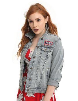 disney-lilo-&-stitch-denim-patch-jacket by hot-topic