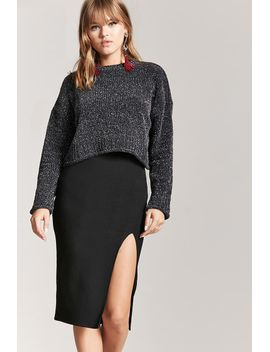ribbed-knit-pencil-skirt by forever-21