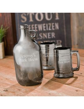 Personalized Beer Growler Set by Jds Gifts