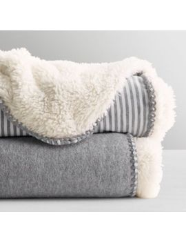 Luxe Sherpa Stroller Blanket by Restoration Hardware Baby And Child
