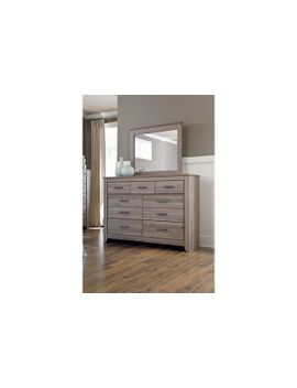 Zelen Dresser And Mirror by Ashley Homestore