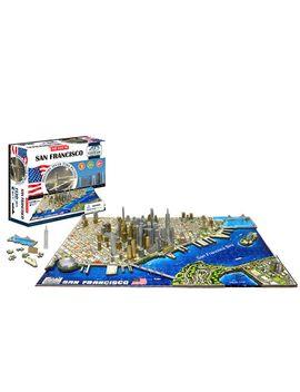 4 D Cityscape San Francisco Puzzle by 4 D Cityscape