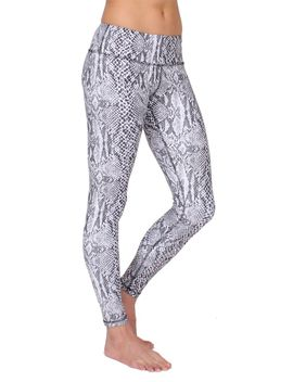 Ferocity Leggings Whitesnake by Anjali
