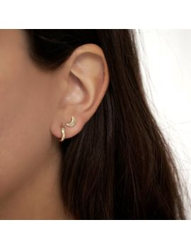 Tagr Ear Hugging Earrings Gold Hoop Silver Minimalist Dainty Cartilage Hoops Tragus By Byliajewels