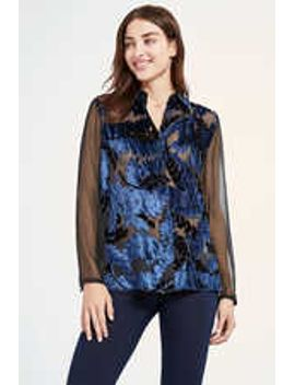 Chenille Blouse by Elie Tahari