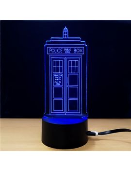 M.Sparkling Td292 Creative Buliding 3 D Led Lamp by Dress Lily