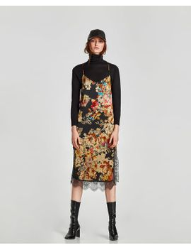 voluminous-dress-with-belt--new-intrf by zara